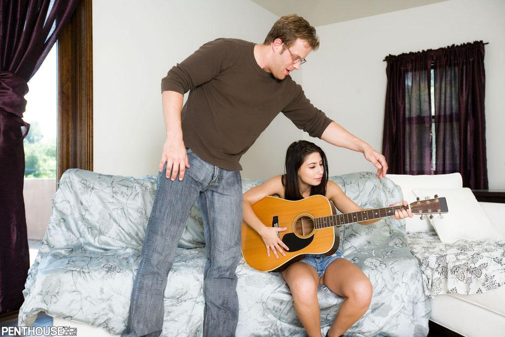 Guitar teacher fucks a naive schoolgirl 2