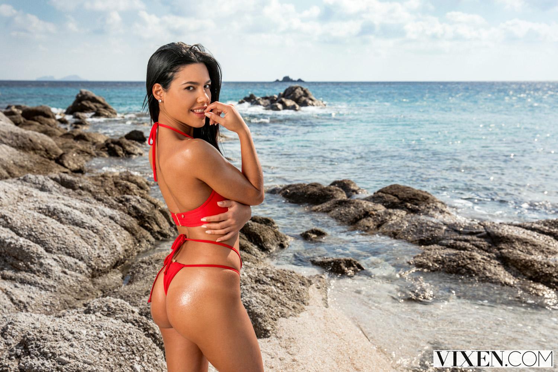 Aplonia Lapiedra Porn apolonia lapiedra fucks the rich guy on a sunny beach