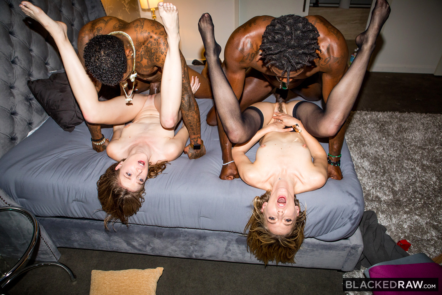 Ashley Lane And Mona Wales Hook Up With A Couple Of Studs -2464