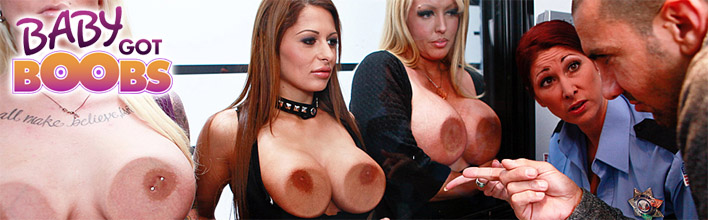 Alison Star gets recognized in a line-up due to her magnificent bust. Click Here to watch the full scene at Baby Got Boobs now!