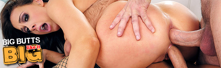 Chanel Preston takes two hard cocks simultaneously. Click Here to watch the full scene at Big Butts Like It Big now!