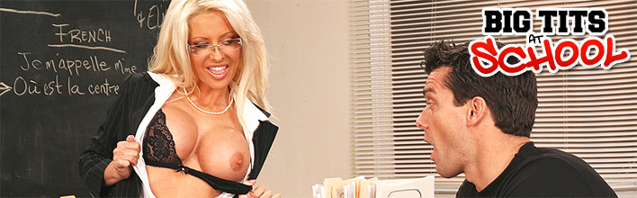 The hottest teachers showing how to suck cock!