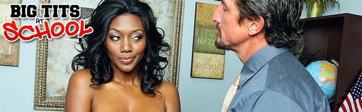 Nyomi Banxxx fucking the school principal in his office. Click Here to watch the full scene at Big Tits At School now!