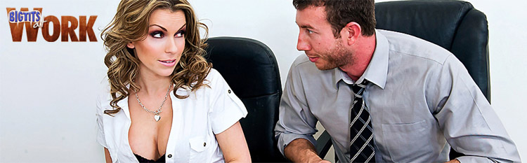 Courtney Cummz enjoys a sexual encounter in the office. Click Here to watch the full scene at Big Tits At Work now!