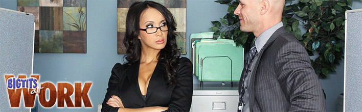 Katsuni gets drilled by her boss in the ladies room. Click Here to watch the full scene at Big Tits At Work now!