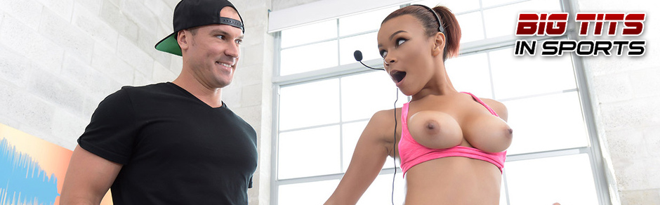 Watch athletic pornstars as they flex their hot asses and stretch their tight pussies doing a hardcore workout on some of the biggest cocks!