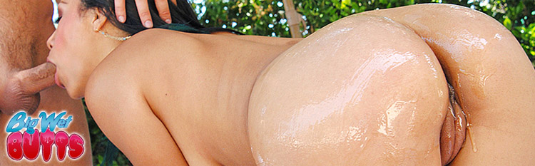Cassandra Cruz gets her oily butt reamed hard. Click Here to watch the full scene at Big Wet Butts now!