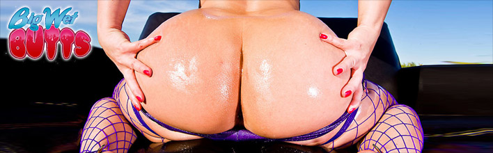 Katja Kassin has some real fun with a big dick sliding up her oily ass. Click Here to watch the full scene at Big Wet Butts now!