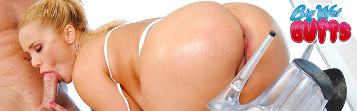 Shyla Stylez gets her tight round ass oiled up and fucked. Click Here to watch the full scene at Big Wet Butts now!