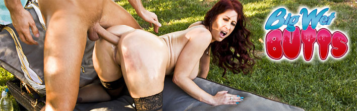 Tiffany Mynx enjoys some serious anal pounding. Click Here to watch the full scene at Big Wet Butts now!
