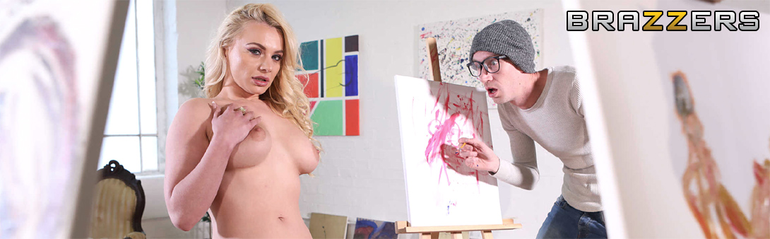 Brazzers Painted Porn
