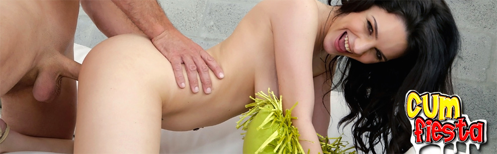 Hot girls getting facials and getting covered in cumshots!