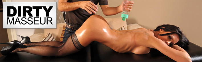 Kirsten Price receives a gift certificate for one free massage. Click Here to watch the full scene at Dirty Masseur now!