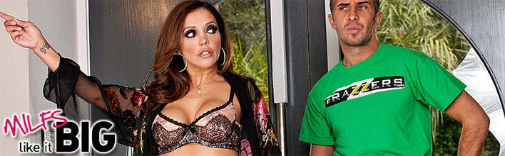 Francesca Le sucks the plumber's pipe clean. Click Here to watch the full scene at Milfs Like It Big now!