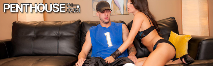 Kortney Kane treats him to full service sex on game day. Click Here to watch the full scene at Penthouse now!
