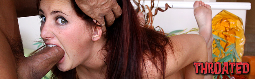 Cock expanded in throat