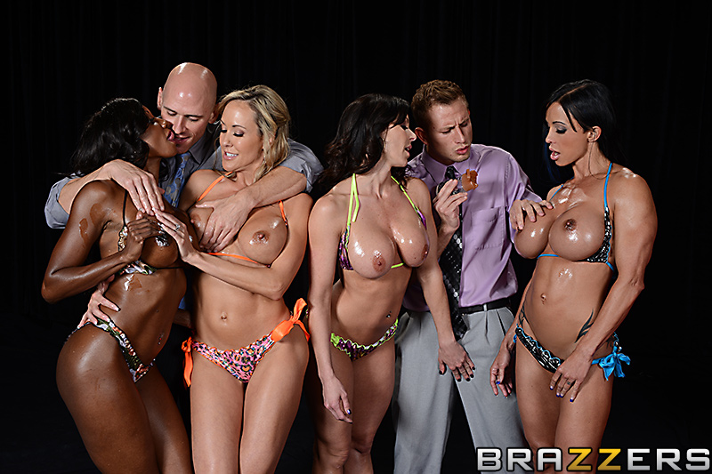 Diamond Jackson and Jewels Jade compete with Brandi Love and ...
