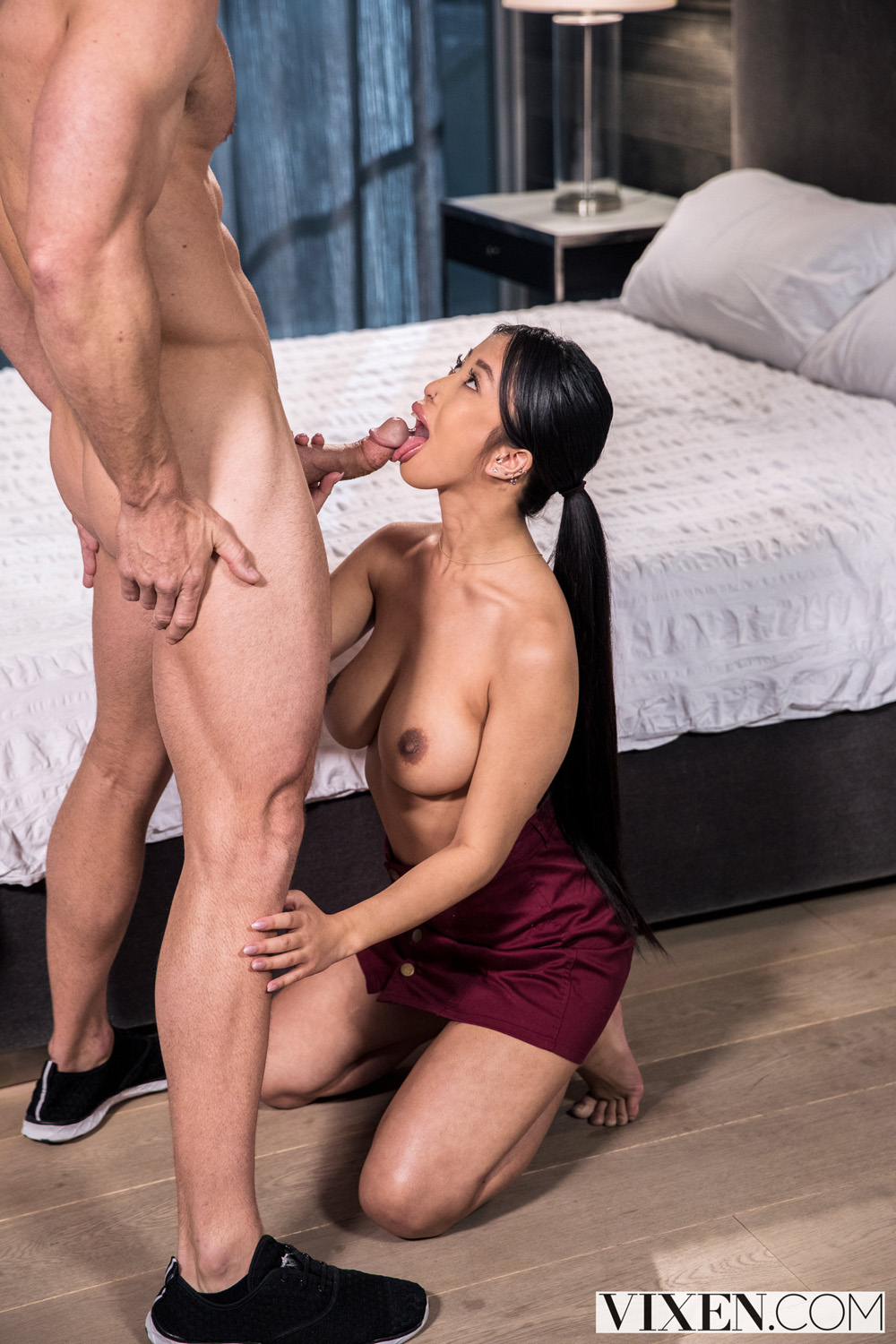Jade Kush Jamming Her Neighbors Dick Into Her Mouth And Pussy-7965