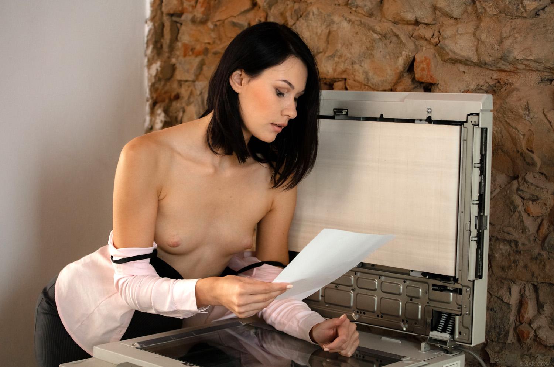 Nikki Stills Porn nikki stills sexy secretary bangs her boss in his office