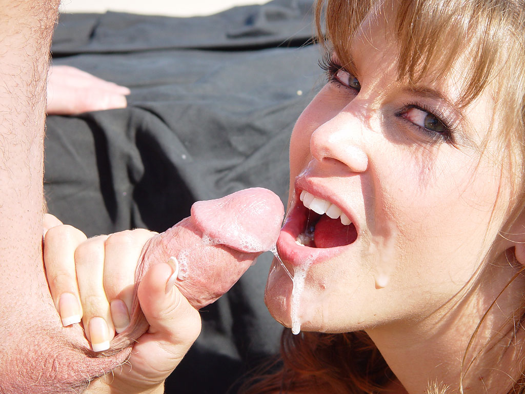 Rebecca love blowjob