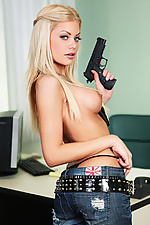 Riley Steele gets drilled by a police inspector in her office from Digital Playground