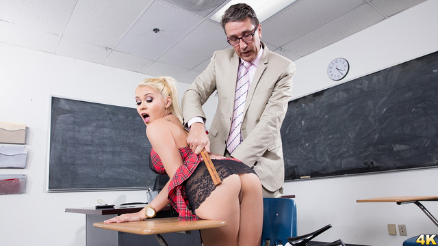 Marsha May Naughty Teen School Girl Gets An A For Anal