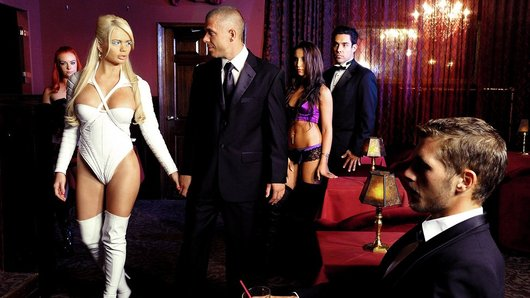 Alexis Ford in XXX-Men: The Hellfire Club