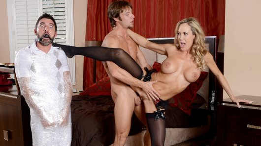 Brandi Love in Cuckolding the Neglectful Husband