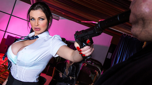 Aletta Ocean in Spy Hard 3: Hit Girl