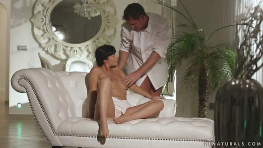 Ava Dalush knew that with him, everything will come natural. He will take care of her body in the most gentle way, caressing her big, sensitive breasts and wet pussy with his fingers and tongue, before he penetrates her, sliding deep inside to bring her to the climax.