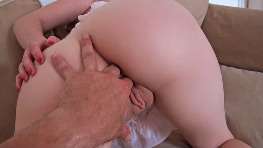 Who doesn't like seeing cute little hotties getting split in half by big cocks? We got to see a tape of this French amateur Cristal Rose taking it deep in her ass for the first time. Her boyfriend convinced her to try anal sex, and she fucking loved it!