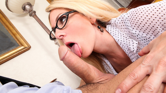 Angela Attison in Naughty Office