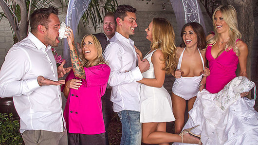 Carter Cruise in Naughty Weddings