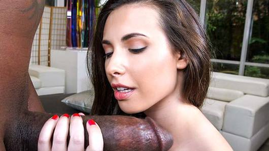 Casey Calvert is one monster cock loving dame. She can't get enough of that giant black dick. Casey is one hot, petite chick with an insatiable love for cock. Our boy made sure to give her an unforgettable pounding. He stretched her pussy like a rubber band. Enjoy!