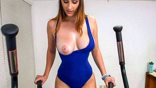 Ashley Adams in Ashley Adams Works out Body and Pussy