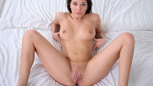 Brooke Myers in Soft Pillows Hard Cock