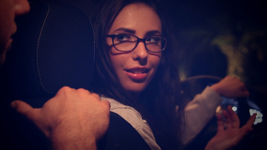 Casey Calvert in The Passenger