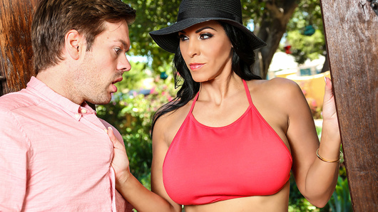 Wanting to spice up their marriage, a desperate wife hires a dance instructor in the seductive Veronica Rayne. Disinclined to partake, the husband quickly changes his mind when the busty and naughty Ms. Rayne arrives at his house with the intention of giving him some sexy private lessons...