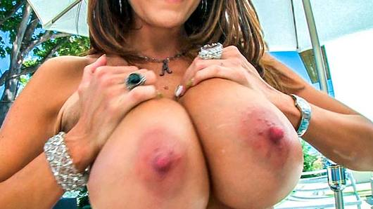 Ava Addams has been in the business of taking dick for quite some time now. This chick is perfect, she looks as if she were photoshopped on real life. Ava has a huge set of tits, an ass that gets bigger and rounder every year, and a killer body. Ava gets an anal pounding she won't soon forget. Ava loves to get fucked in the ass, she takes that dick with a huge smile!