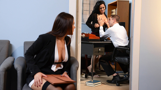 Valentina Nappi in Battle of the Stockings