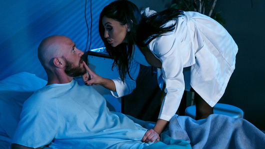 Johnny Sins hasn't had a good rest in ages. Dr. Audrey Bitoni suspects that it may have something to do with his frigid wife denying him pussy on a regular basis, so she comes up with the perfect solution, keep Johnny overnight for observation, fuck his brains out, and let him finally get a good night's rest.