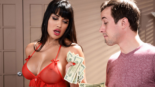 Mercedes Carrera loves being a high class hooker. Nobody knows her secret, especially not her husband. So when she discovers her husband's brother Jessy has hired her for the night, she freaks out and tries to leave. But once Jessy flashes that cash, she can't help but do whatever he desires... even things she won't do for her husband!