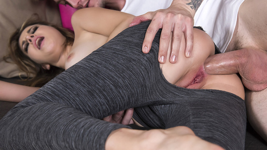 Kinsley Eden in Anal Yoga