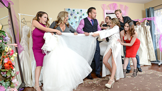 Dillion Harper is so stressed with all the problems getting her wedding just right. Her soon to be groom wants to relieve that stress by giving her his cock.