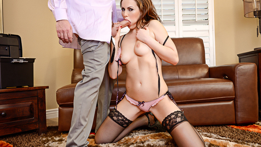 Tina Kay is excited about what her dad left her in his will, but her dad left her absolutely nothing. Tina decides to seduce the attorney reading the will in hopes of having him possibly change that will a little bit.