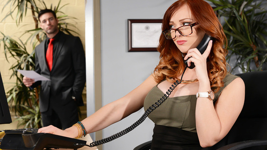 Dani Jensen does the hiring for her company, so when her boss's nephew Charles is set up with an interview, she's expected to hire him on the spot. But Charles' arrogant attitude and comments about her tits make Dani see red. She's not going to hire some prick without making him work for it first!