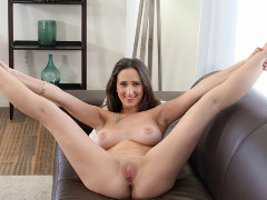 Watch a real casting video preview starring Ashley Adams, courtesy of Casting Couch X!
