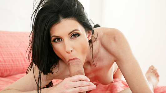 India Summer walks in on her son's friend showering. India is impressed how well he's grown up. She decides to make the best of the situation and has him exit the shower for a quick fuck.