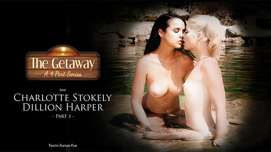 Watch a free Twistys video preview starring Charlotte Stokely and Dillion Harper!