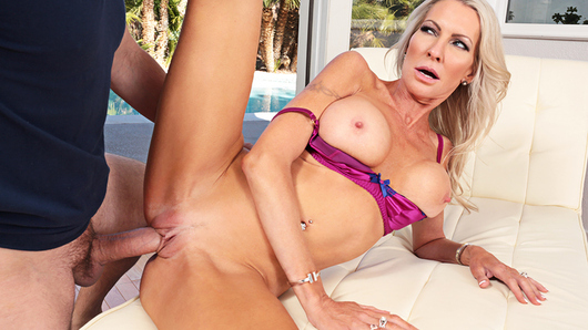 Emma Starr is back from vacation with her husband, and she's ready to start fucking her neighbor again.